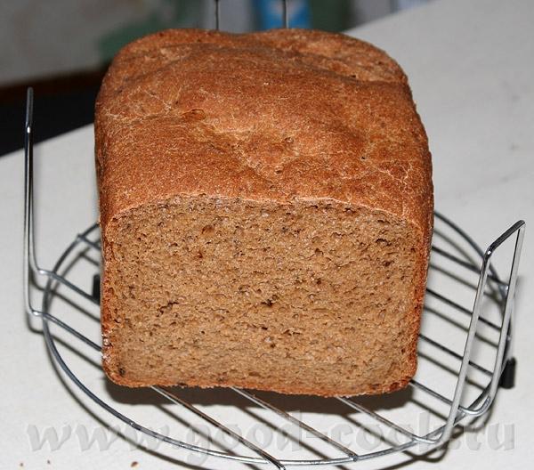 Хлеб ржаной на минеральной воде