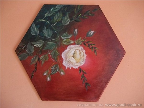 Моя роза Вам всем