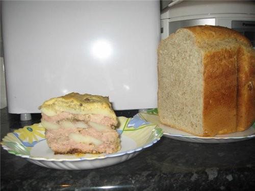 Приготовила для гостей запеканку из картофеля с фаршем, луком и сыром с пакетиком «Магги на второе...