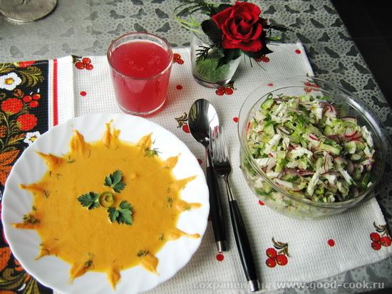 постный обед