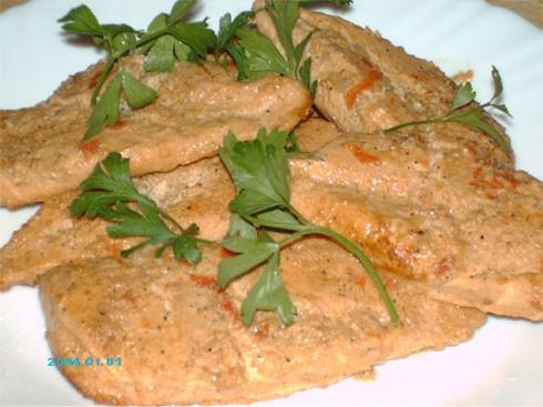 Сегодня на обед запекла в духовке Куриные грудки в маринаде для Шауермы и приготовила Овощной тарт...