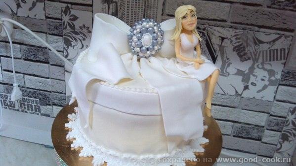торт с портретной куклой симферополь