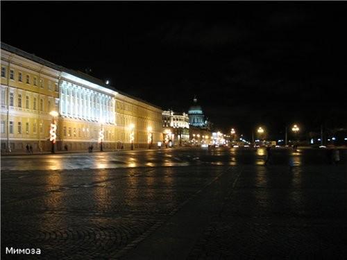 Вид с Дворцовой площади на Исаакиевский собор