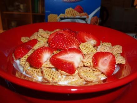 Позавчера позавтракали cereal
