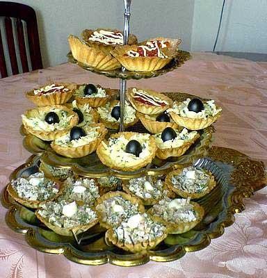 Вот и мои праздничные блюда (не все) Впервые попробовала испечь тарталетки (в магазине у нас готовы... - 5