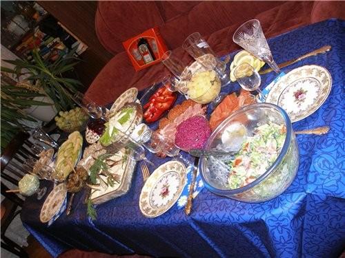 Немножко праздничного стола