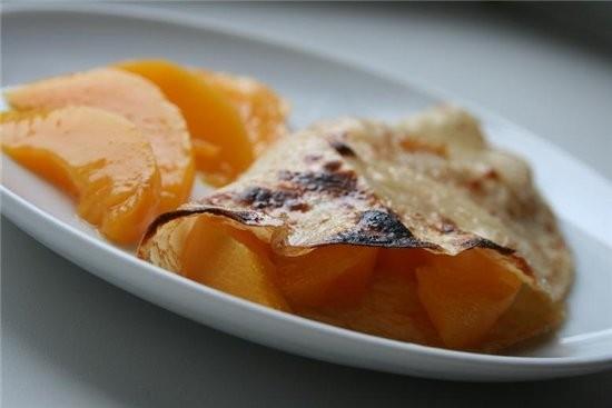 Фриттата с кабачками и еще одна идея для завтрака-очень простая блины в карамели в блинчик завернут... - 2