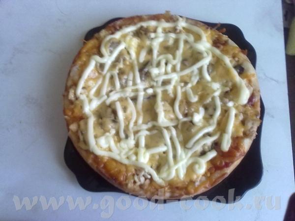 Пицца Тесто сделала хлебопечка