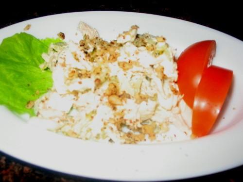 Девочки сегодня мы кушали скромненько: супчик с семгой и пшеном салатик еще салатик - 3