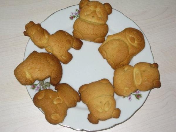 Фахришкины печенья (помогал мне их делать мой трёхлетний сынулька Фахри) 1,5 стак - 2