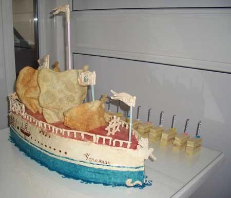 Как насчёт такого кораблика