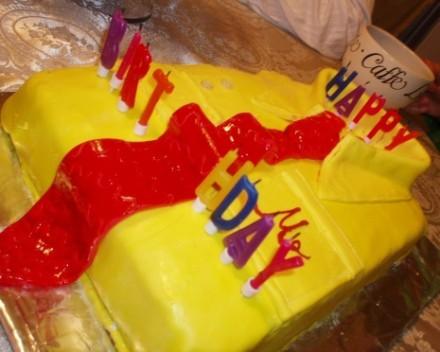 Тортик для мужа делала опираясь на рецепт из маминых записей,с кучей моей отсебятины,как например о... - 3