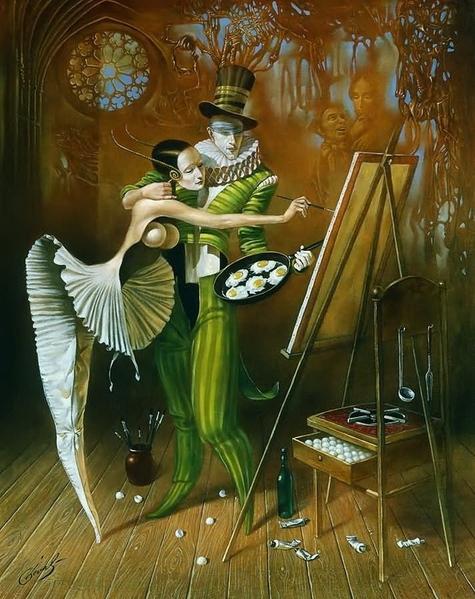 А вот такое как Михаил Хохлачев ============ Реальность, изысканное ощущение мира, богатая фантазия - 5