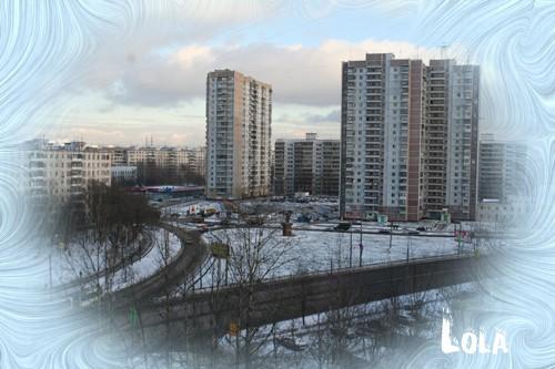 Вот и нас порадовала погода снегом это вчера а это сегодня - 2