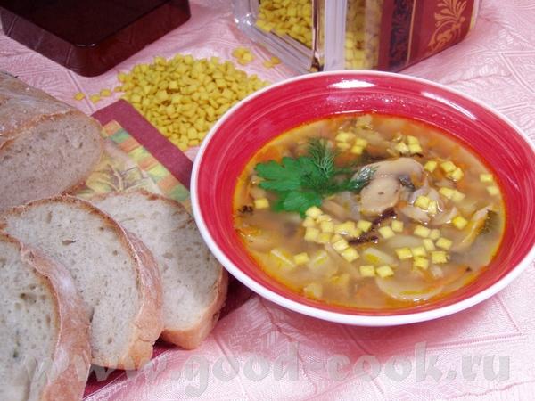Суп с фрикадельками,сельдереем и томатной пастой Грибной суп с морковью и сельдереем - 2