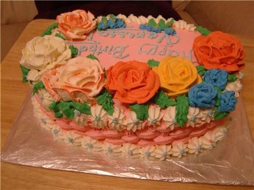 Мой вчерашний тортик - 3