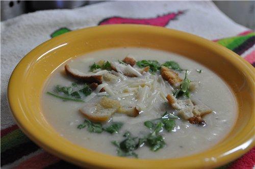 суп пюре из цветной капусты от юлии высоцкой