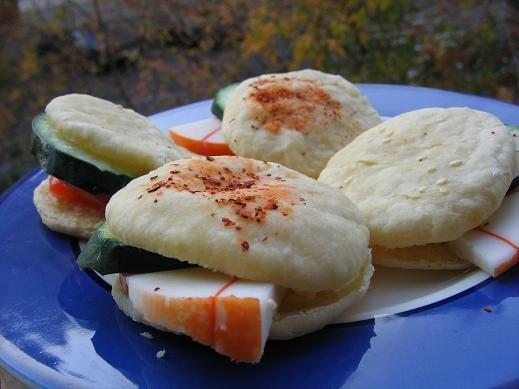 сколько же красоты у всех откусила немножко у нас такой будет ужин салат из свежих овощей ЛЕПЕШКИ Д... - 2