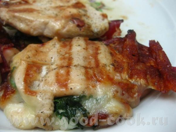 курица izgara отбитые кусочки филе посолить,поперчить,добавить измельчённый тмин - 3