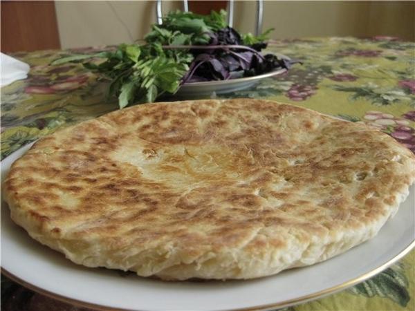 Феселли(ударение на последний слог)-азербайджанские лепёшки кефир-стакан или 0,75 стакана пол пачки... - 2