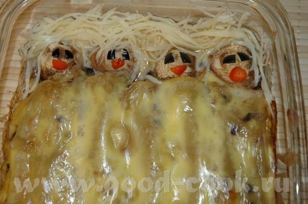 Предлагаю вашему вниманию новое блюдо для детей под названием СПЯЩИЕ КРАСАВИЦЫ Идея стибрена с журн... - 2