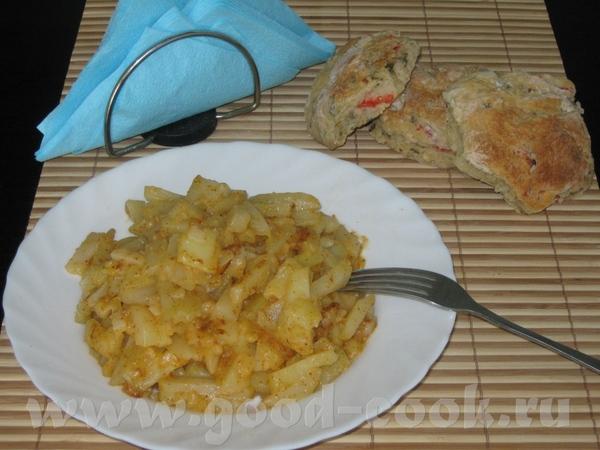 Картофель с аджикой Состав: Картофель, Растительное масло, Аджика, 3 ст