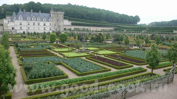 И виды со стороны сада: Это из музыкального сада: Овощной сад на самом деле был из зеленого и красн... - 3