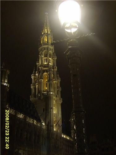 и ещё несколько фото ночного Брюсселя это главная площадь - 3