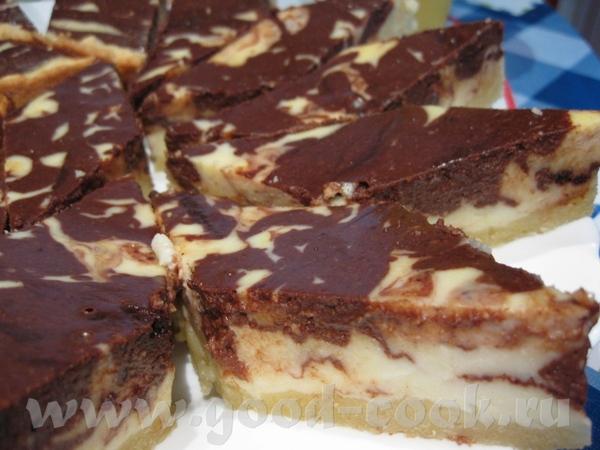 может такой подойдет Шоколадный мраморный пирог с апельсиновым ароматом