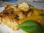 Овощные Баклажанные рулетики с сыром и перцем Закуска из цуккини с томатами в чесночно-уксусном соу... - 7