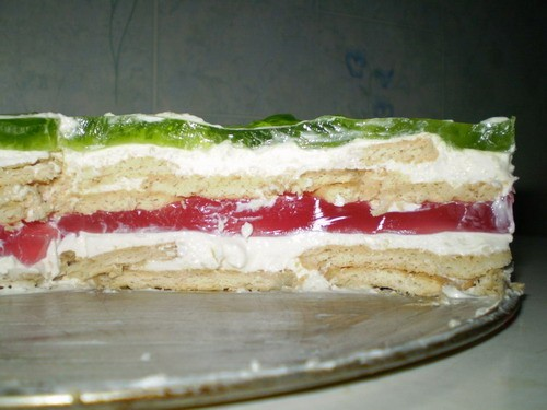 Вот на выходных готовила два таких тортика - 2