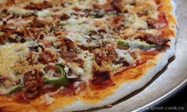Тесто для американской пиццы
