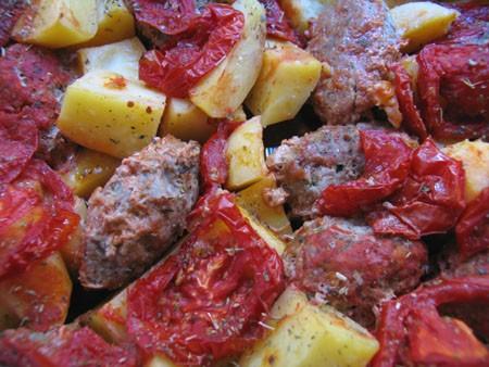 На ужин у нас Кюфта от Верочки, кто не пробовал обязательно попробуйте, такая вкуснятина