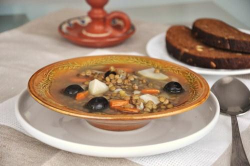 актуальный в пост суп, сытный и с простыми доступными продуктами
