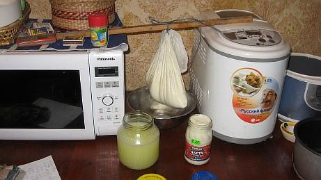 Мягкий творожок (крем-чиз) в домашних условиях