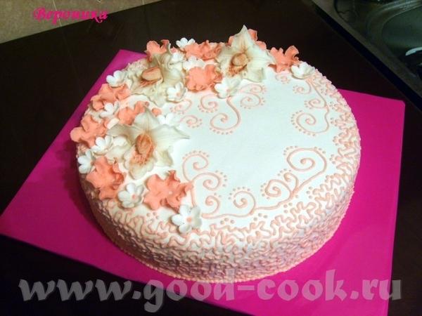 Очередной мой тортик