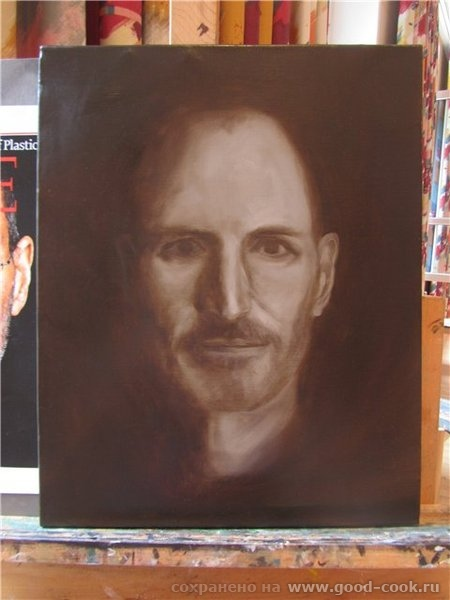 Техника создания портрета (мастер класс у М - 2