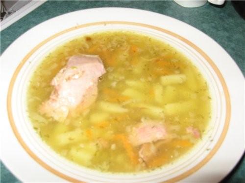 """У меня гороховый суп с копченым привкусом (от """"Жидкого дыма"""") Просто пока я купила горох, забыла пр..."""