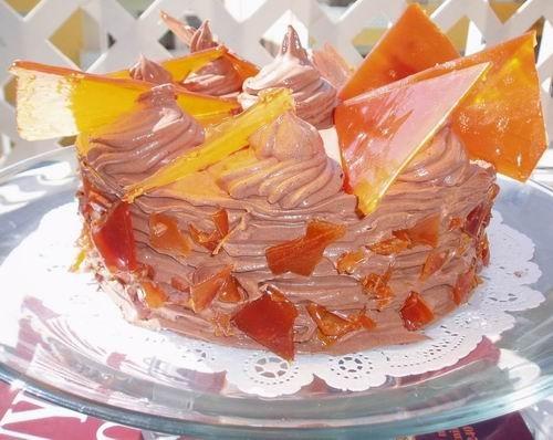 Торт Янтарь