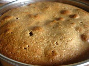Шоколадный грушевый пирог источник: Готовим - 5