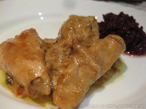 Курица с горчицей от Вкусно, пальчики оближешь Маленькая отсебятина, добавила немного пассерованног...
