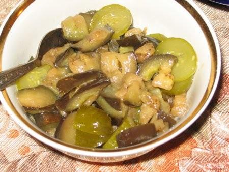 Мясо с овощами тушенное в вине - 4