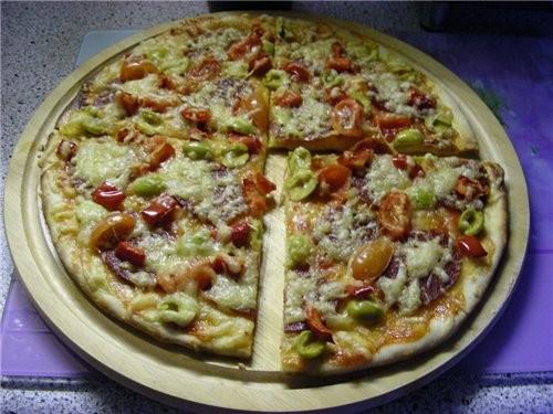 Как раз сейчас пиццей занимаюсь