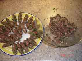 Хочу поделиться рецептом приготовления долмы (фаршированные виноградные листья) - 2