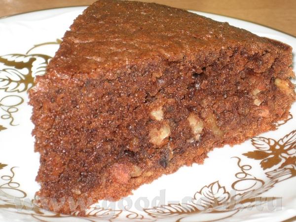 Спасибо Ане за шоколадный эспрессо - очень влажный и просто шоколаднейший пирог