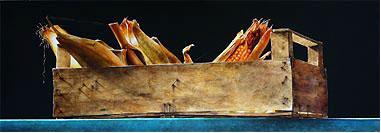 """Способ рисования акварелью сухой кистью (Отторино де Луччи) -результат вы видели Андрияка """"Метель""""... - 2"""