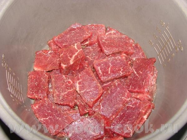 Вкуснятина от подружки Мясо - говядина, морковка, лук, чеснок, помидорки черри, картошка, капуста,...