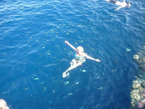 плавать с рыбками