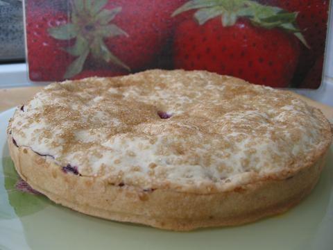 Постный пирог с черной смородиной Начинка может быть любой, с любыми замороженными ягодами или с яб... - 5