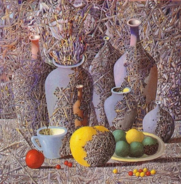 Здесь есть 40 картин от Ивана Марчука и они очень большого размера- можно их хорошо досматривать, а...